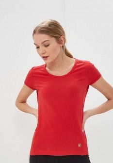Женская красная футболка CHAMPION