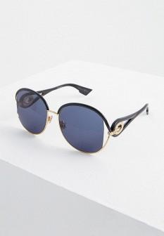 Женские зеленые итальянские осенние солнцезащитные очки