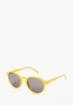 Женские желтые осенние солнцезащитные очки