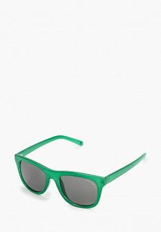 Женские зеленые осенние солнцезащитные очки