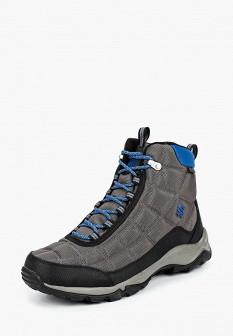 Мужские серые осенние трекинговые ботинки