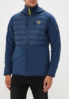Мужская синяя осенняя куртка кэжуал