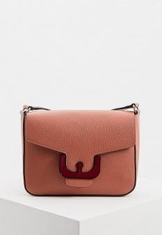Женская коричневая кожаная сумка