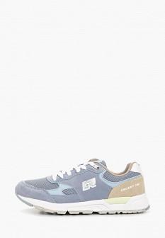 Женские голубые осенние кроссовки