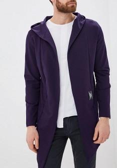 Мужской фиолетовый кардиган