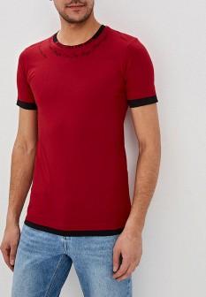 Мужская бордовая футболка Dali