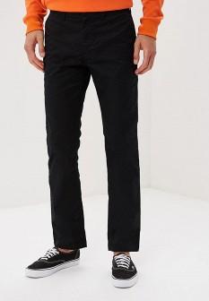 Мужские черные осенние брюки