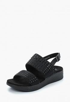 Женские черные сандалии Der Spur