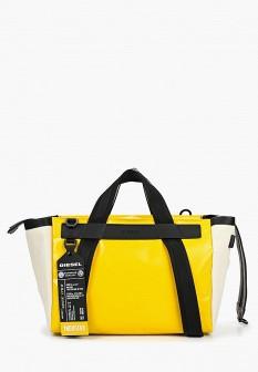 Женская желтая сумка Diesel