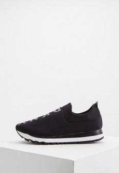 Женские черные кроссовки DKNY