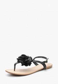 Женские черные осенние сандалии