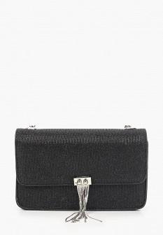 Женская черная осенняя сумка