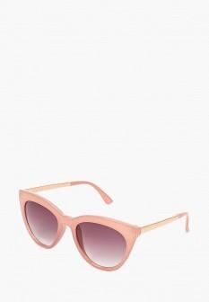 Женские розовые осенние солнцезащитные очки