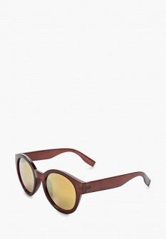 Женские коричневые осенние солнцезащитные очки