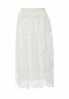 Белая осенняя юбка Dorothy Perkins