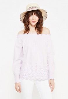 Фиолетовая осенняя блузка Dorothy Perkins