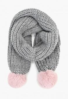 Женский серый шарф Dorothy Perkins