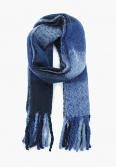 Женский синий осенний шарф Dorothy Perkins