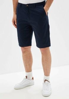 Мужские синие осенние шорты