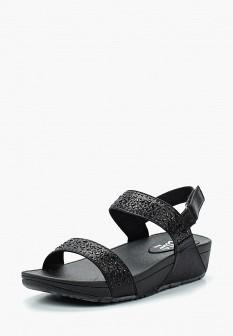 Женские черные сандалии Ella
