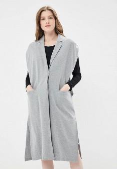 Женский серый жилет Eleven Paris