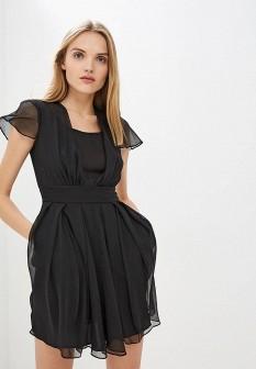 Черное платье Emporio Armani