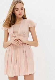 Розовое платье Emporio Armani