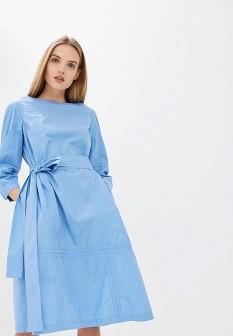Голубое платье Escada Sport