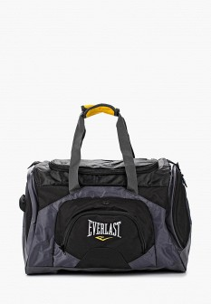 Женская серая черная сумка Everlast