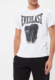 Мужская белая футболка Everlast