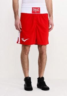 Мужские красные осенние спортивные шорты