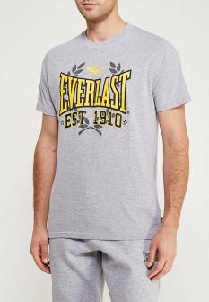 Мужская серая футболка Everlast