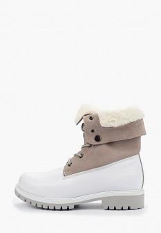 Женские осенние кожаные ботинки на каблуке на платформе