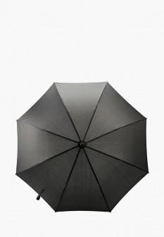 Мужской черный зонт трость