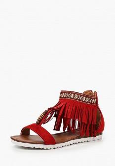 Женские красные сандалии Fersini