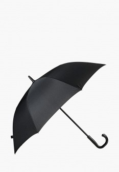Мужской черный зонт трость Flioraj