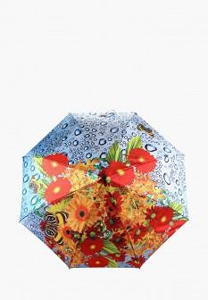 Женский осенний складной зонт