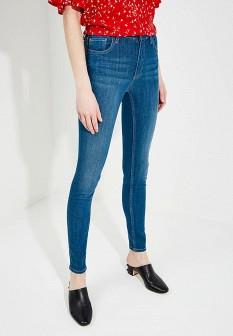 Женские синие джинсы skinny FRENCH CONNECTION
