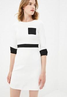 Белое осеннее платье FRENCH CONNECTION