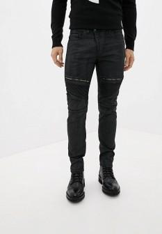 Мужские черные итальянские осенние джинсы