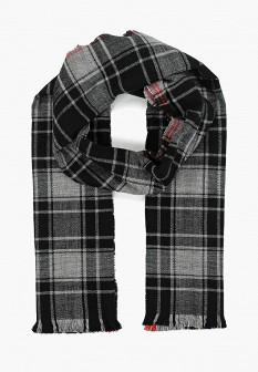Мужской серый осенний шарф GAP