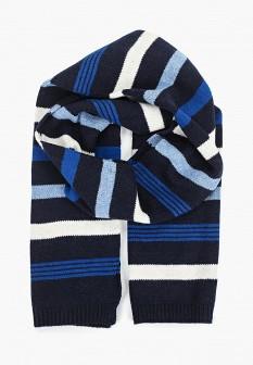 Мужской синий осенний шарф GAP