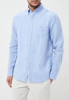 Мужская голубая рубашка GANT