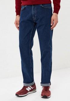 Мужские синие осенние джинсы