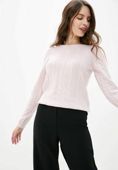 Женский розовый осенний джемпер