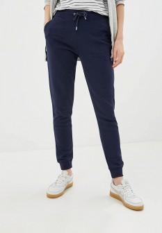 Женские синие осенние брюки спорт