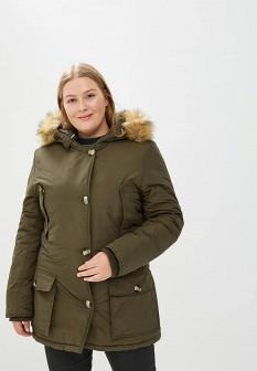 Женская утепленная итальянская осенняя куртка