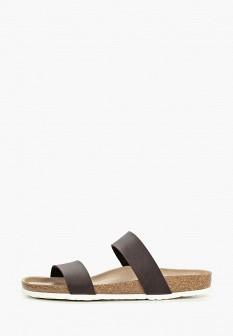 Мужские коричневые испанские кожаные сандалии