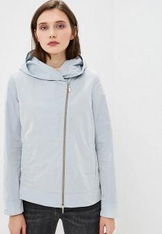 Женская голубая осенняя куртка