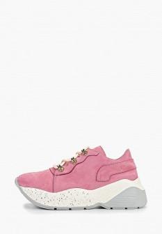 Женские розовые осенние кроссовки